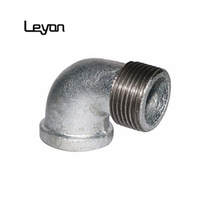 1/2 male female elbow galvanized malleable iron pipe fittings