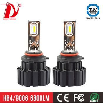 9005 9006 super bright led h7 bulb 13600lm led headlight h7 with good factory price h4 led headlight