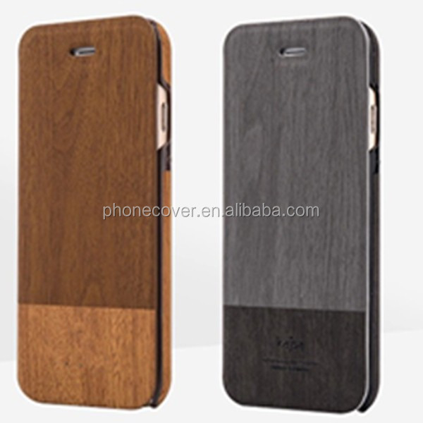 Flip wood mobile phone shell for iphone 8,for iPhone 6, for i7, mobile phone accessories from China Win Win