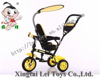 Ride On Toy Style and ride or push Power Aluminum alloy frame Children tricycle/baby seater trike