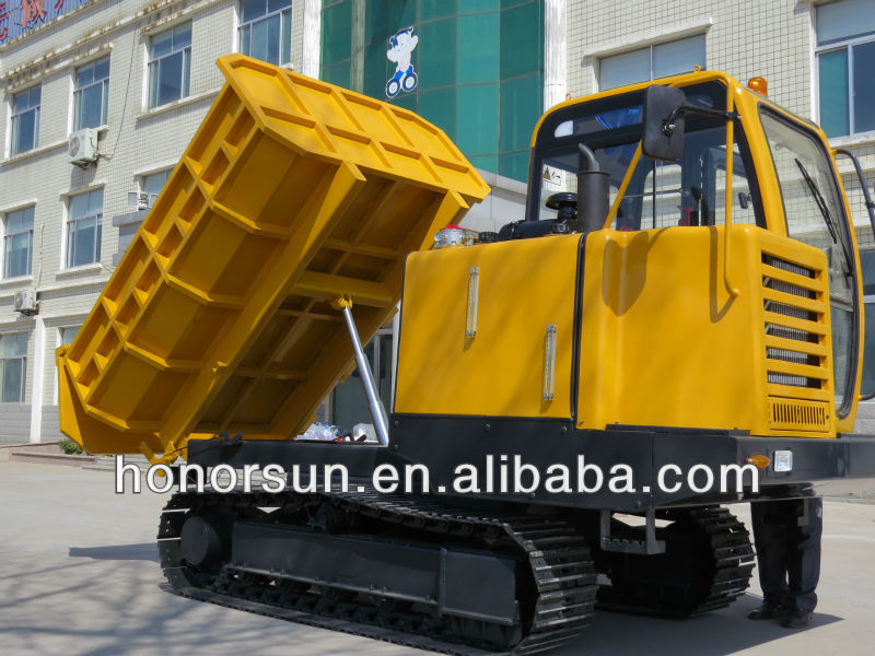 3 ton all rough terrain track dumper