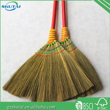 Natural soft used garden broom for hot sale