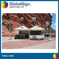 Custom trade show printed table cover