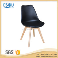 Wholesale Plastic Chair Covers Black Wood Leg Plastic Chairs