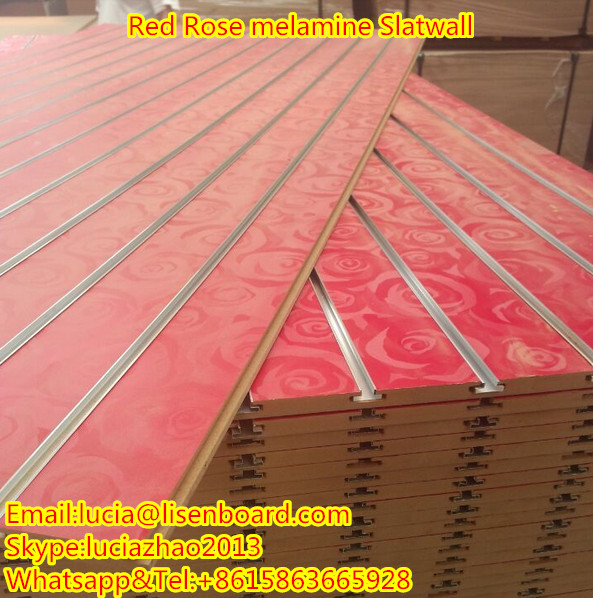 Slotted MDF/ Plain/ Wood Veneer/ PVC / HPL/ UV/ Melamine Laminated MDF and HDF Board