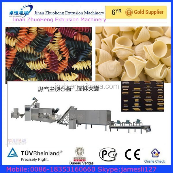 Spaghetti Noodle And Pasta/ Crispy Pea/screw/shell Potato Chips Food Machinery