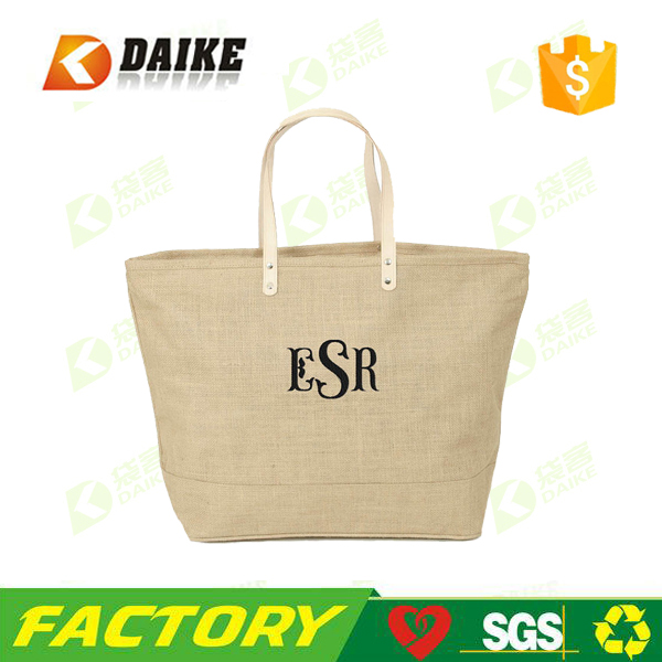 Wholesale China Promotional Bag Burlap Tote Bag for Factory direct
