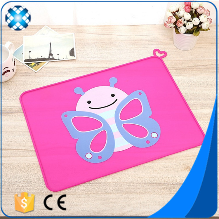 Factory price silicone dog mat feeding pet mat with custom printing
