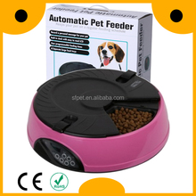 USA LCD 6 separate electronic dog auto pet feeder