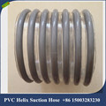 152mm PVC spiral gray transparent plastic suction pipe