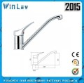 2015 Ningbo 4001D model brass long neck kitchen faucet