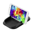 Sticky gel car dash phone mount for smartphone