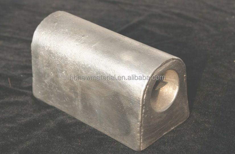 Cathodic protection Sacrificial anode for anti corrosion galvanic corrosion
