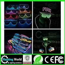 fashion China factory OEM high quality 2014 plastic glitter party sunglasses