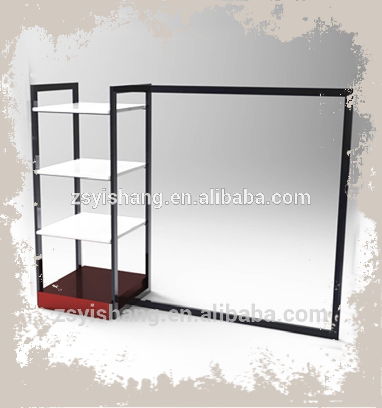 New Products Luxury Dress Display Rack/Stand/Cabinet For Shops