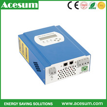 Acesum real power 120a solar charge controller for solar panel system certificated