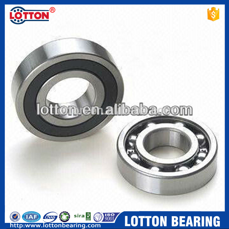 Motorcycle Spare Parts High Speed Deep Groove Ball Bearing