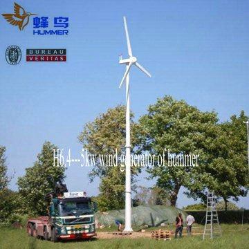 5000w permanent magnet ac generator wind power
