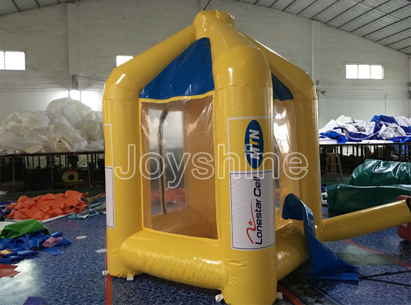 2019 NEW Inflatable Advertising Money Catching Blowing Machine Money Grabber Booth Cube Inflat Cash Grab Box