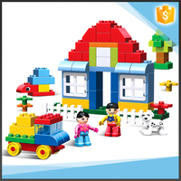 70 PCS hot sales big size building block happy kids toys