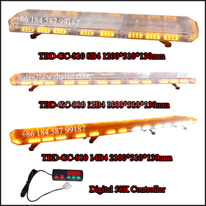 New product ultra slim cheap LED light bar LED flashing warning lightbar