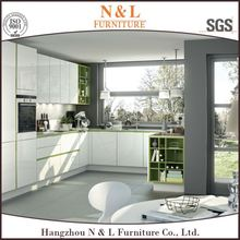 China Wooden Kitchen Cabinets Modern Kitchen Designs with Lacquer face/modern furniture,kitchen