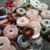35mm Round Natural Stone Donut Gemstone Donuts Wholesale
