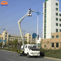truck mounted cherry picker truck articulated boom lift for sale