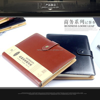 Business Leather Material Hardback 2017 Office