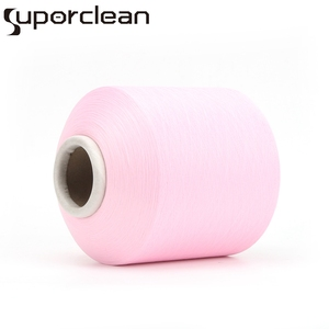 High tenacity antibacterial polyester covered thread yarn with free yarn samples for underwear