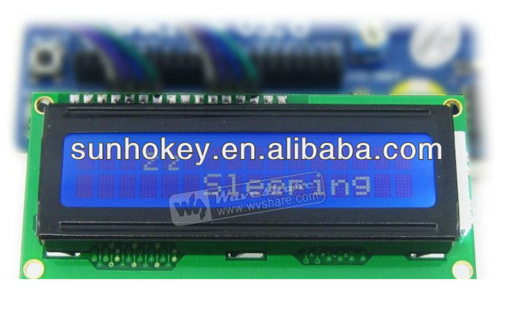 High Definition Blue Backlight Character LCD Module LCD1602 Module TN/STN Module