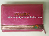 2014 Fashion Branded Ladies Coin Purse Leather Wallet