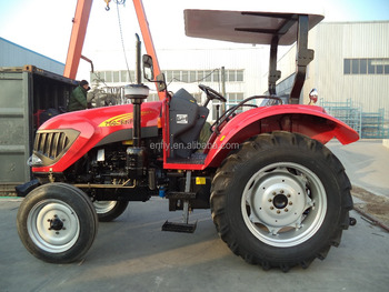 Hot Sale in Tanzania! dealer tractor ENFLY 75hp 2WD, tractor pricelists, agricultural tractor
