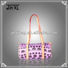 Beautiful Purple ladies leather bag models wholesale