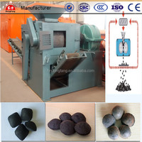 good price&best quality coal powder ball making machine/briquette press machine