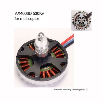 Outrunner Brushless Disk Type Motor for 4-6 rotors multicopter--AX4006D 530Kv