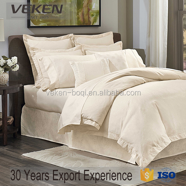 veken products 400tc 60s*60s bamboo single bed sheet set