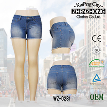 S144444-3-c1 2014 Hot sale summer girl's favorable short jeans