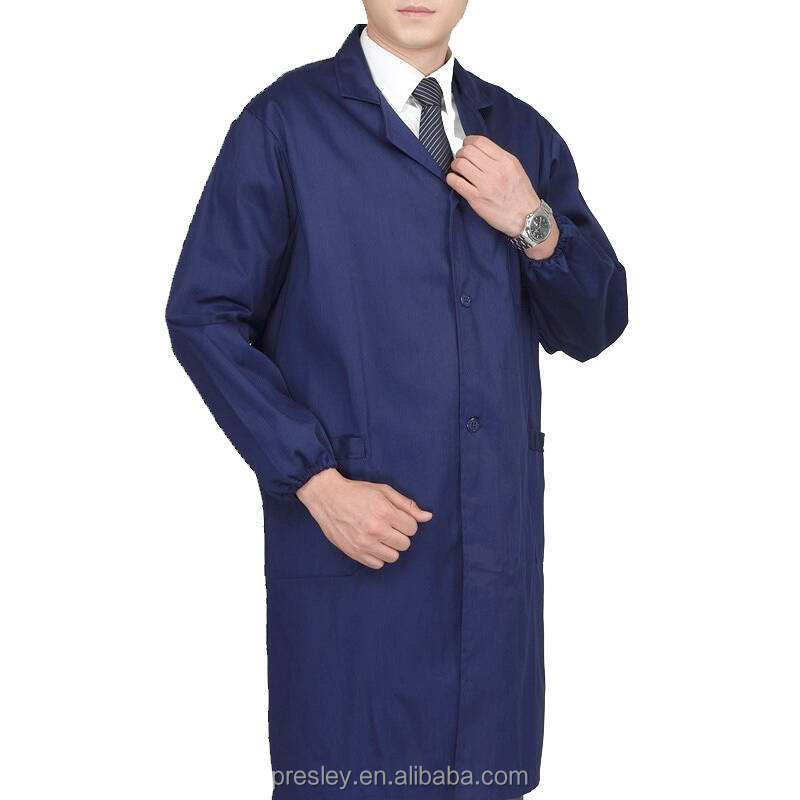 wholesale pricedoctor Uniforms dust coat in 100% Cotton comfortable dirtproof or lab coat