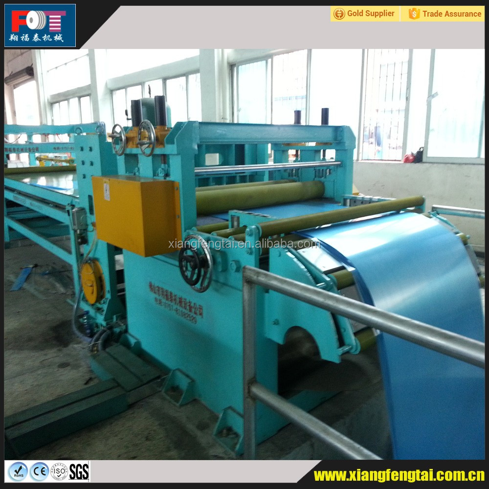 Cut to length machine with sheet straightening machine production line