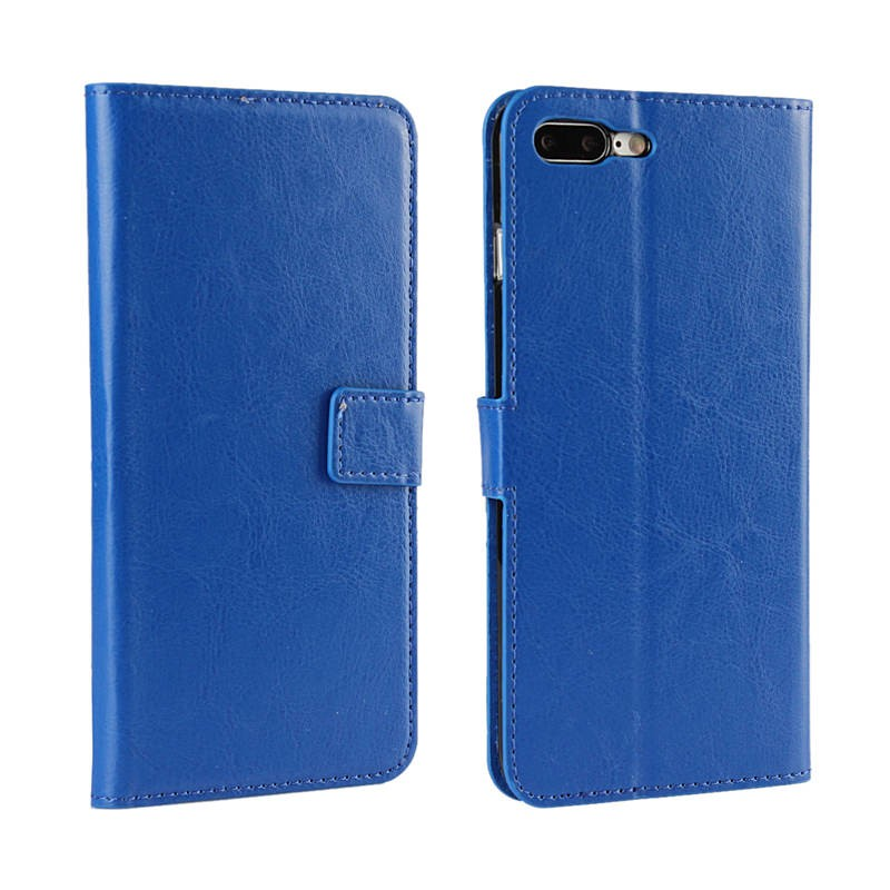 crazy horse leather mobile case for iphone 7plus 8plus , for iphone7plus 8plus phone cover