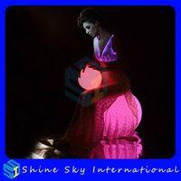 Alibaba China Most Popular Wedding Dress Lights Led Dance Costumes