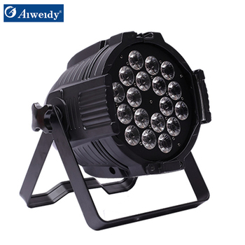 Strong heat dissipation 18*12w rgbwy 5in 1 250w led par can light with lower price