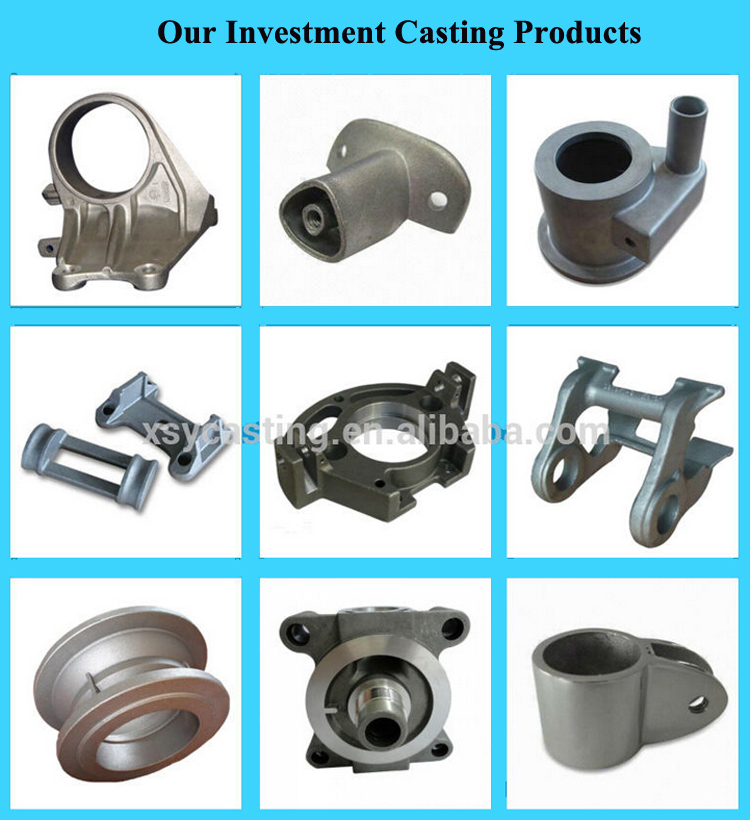High Quality Silicon Sol Steel Investment Casting CST transmission with CNC Machining for Mining Coal