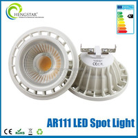 new arrival narrow beam gu10 spotlight ar111 12w,13w,30w warm white super bright ra80 ce rohs ar111 led flood light