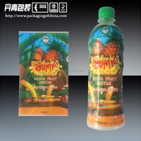 Shrinkable PVC Sleeve For Plastic Bottle Label