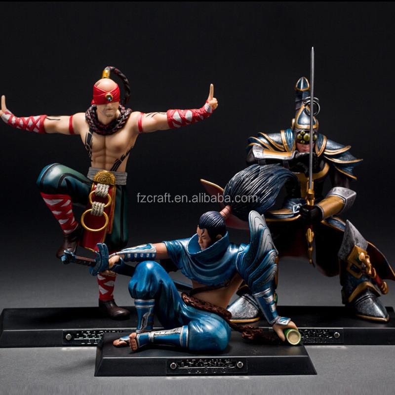 Legends Original Inside Sports: Wholesale Custom Pvc League Of Legends Action Figure Lee