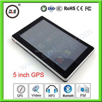 Super low price 5inch Mstar gps with fm,WIN CE 6.0 car gps navigator sd card free map gps navigator av output