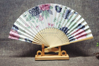 promotional Chinese hand fan bamboo fan customized