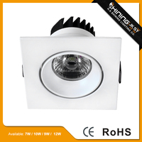 The 2015 best selling led downlight&6watt cob led recessed down light